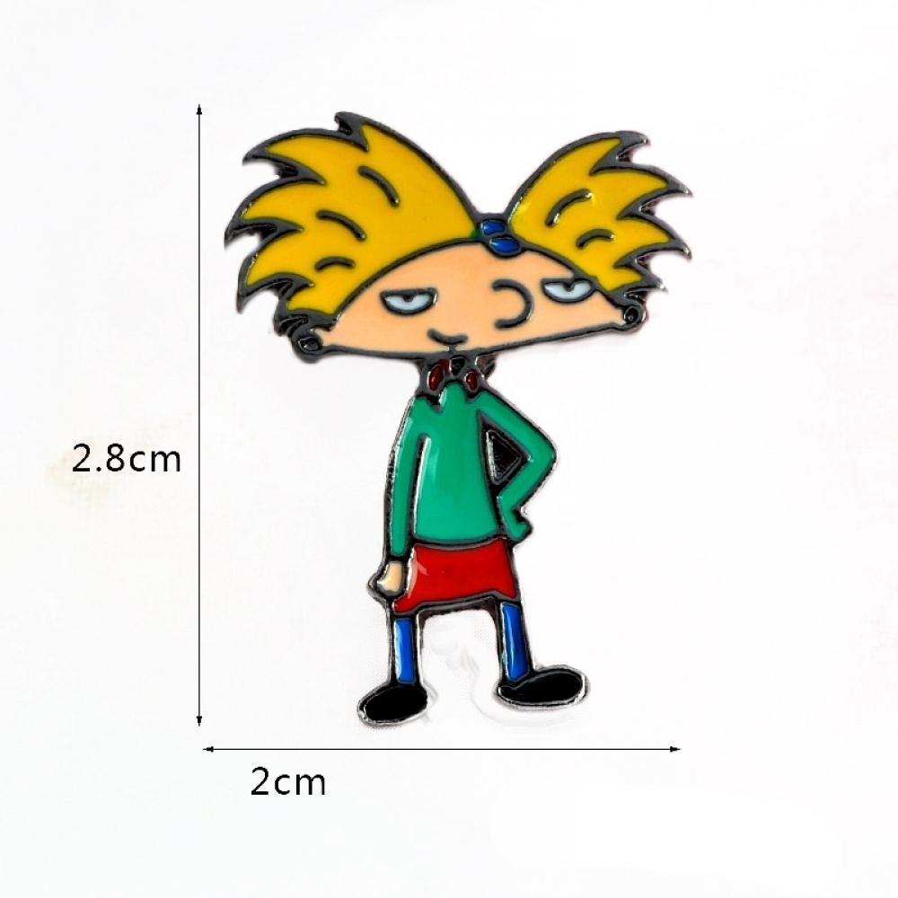 Пін Значок Металевий Hey Arnold