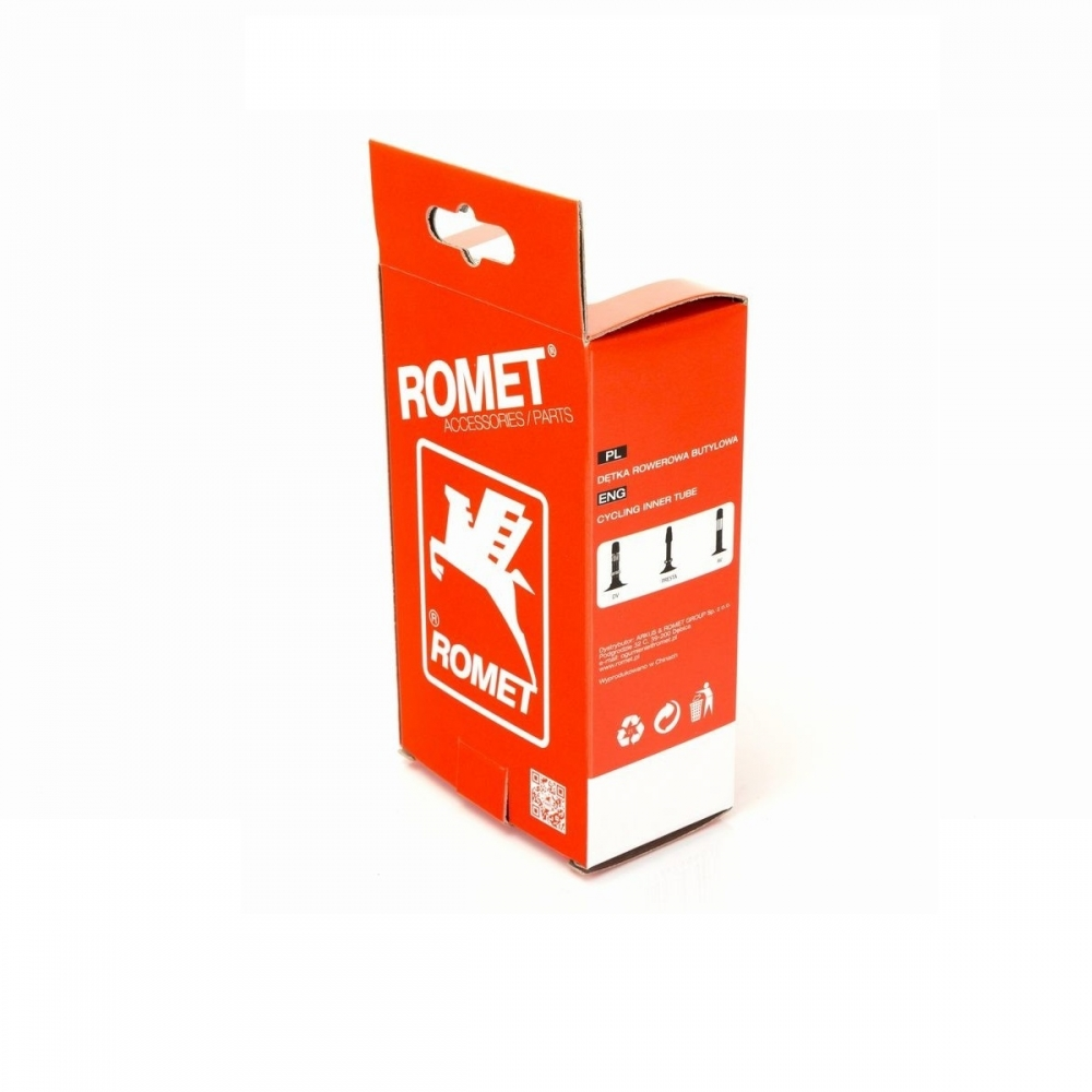 "Камера для велосипеда 16"" X 1.75""/1.90"" AV L-40 Romet"