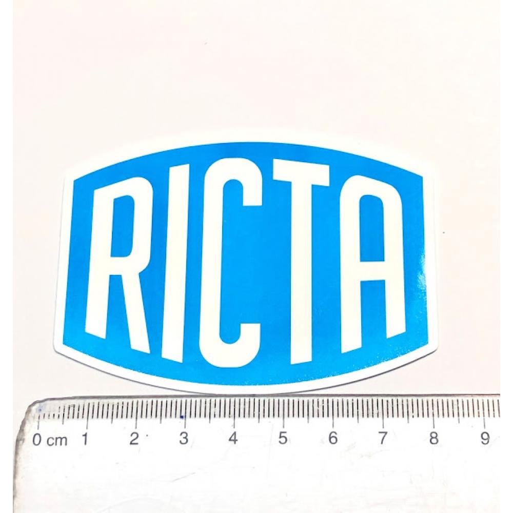 Стікер наклейка Ricta