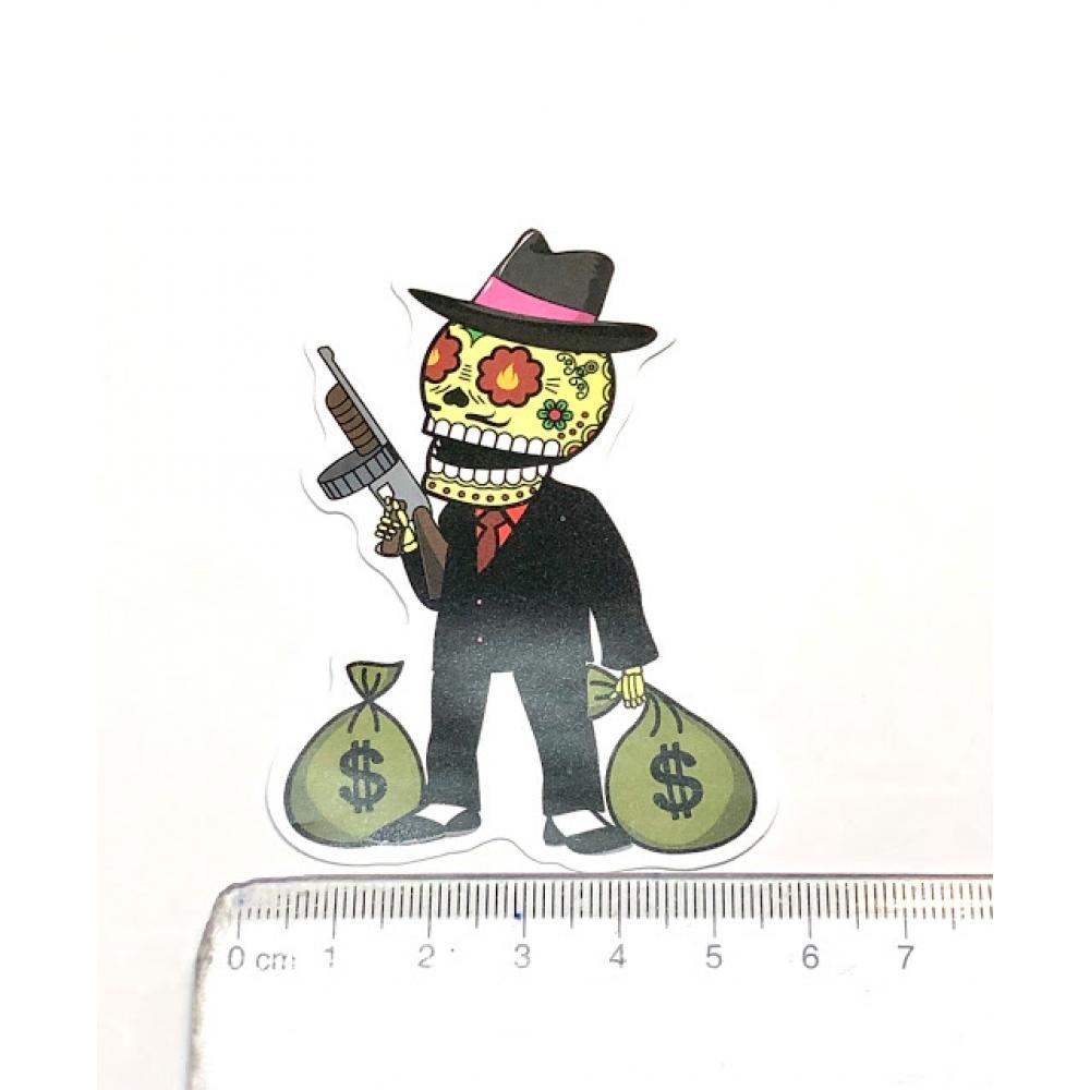 Стікер наклейка Skull Bandit