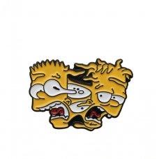 Пін Значок Creepy Bart Simpson