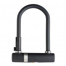 Велозамок AXA Newton U-Lock Pro 190 мм чорний
