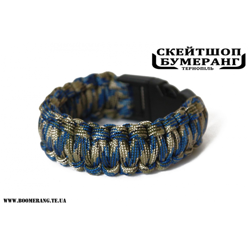 Браслет Паракорд Blue