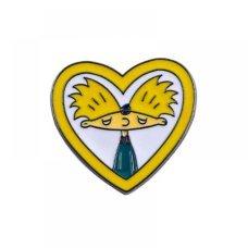 Пін Значок Металевий Hey Arnold Heart