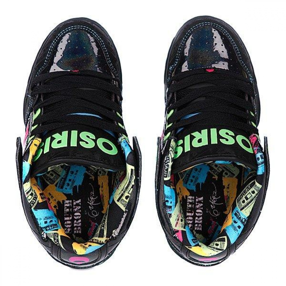 Кроссовки Osiris South Bronx Girls Blk/Wht/Acamonic