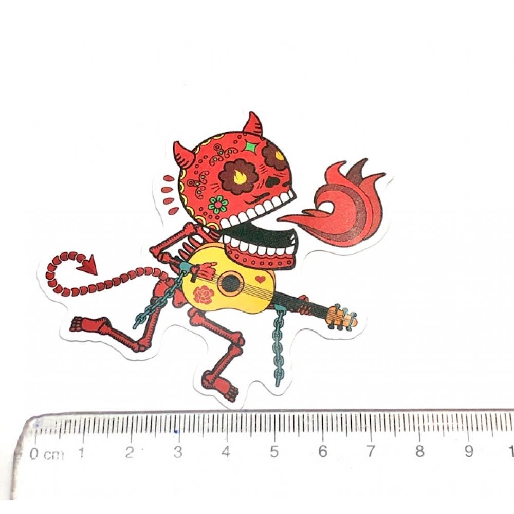 Стікер наклейка Skull Devil