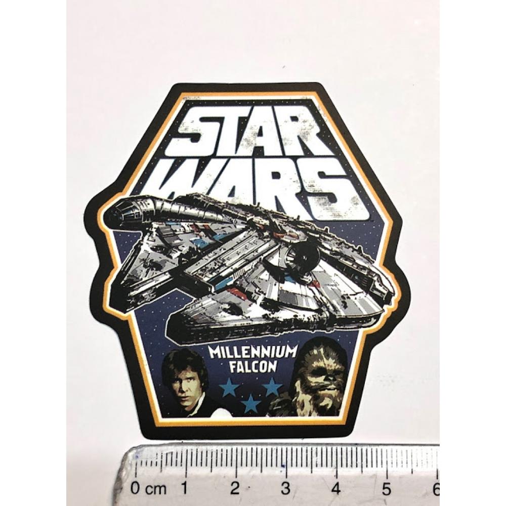 Стікер наклейка Star Wars Millennium Falcon Solo