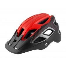 Велошлем FORCE Aves MTB красно-черный, мат L-XL