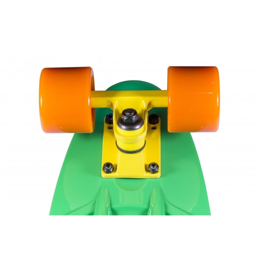 """Крузер скейт Candy Grn/Org/Yel 22 """""""
