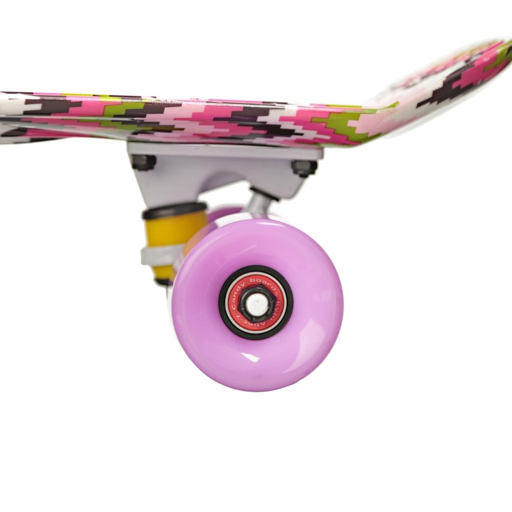 """Круизер скейт Candy Purple Zig 22 """""""