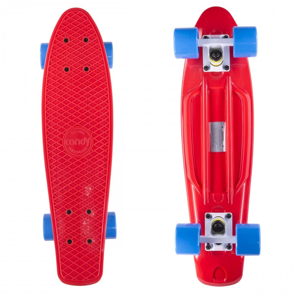 """Крузер скейт Candy Red/blu 22 """""""