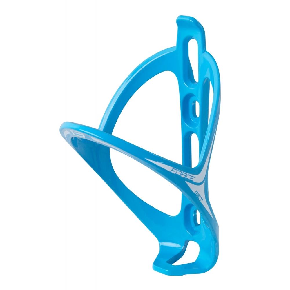 Держатель для фляги FORCE GET пластик blue/wht