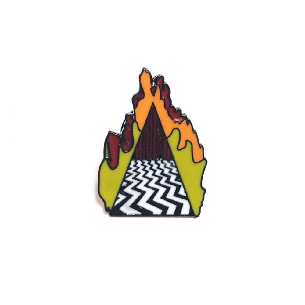 Пин Металлический Twin Peaks