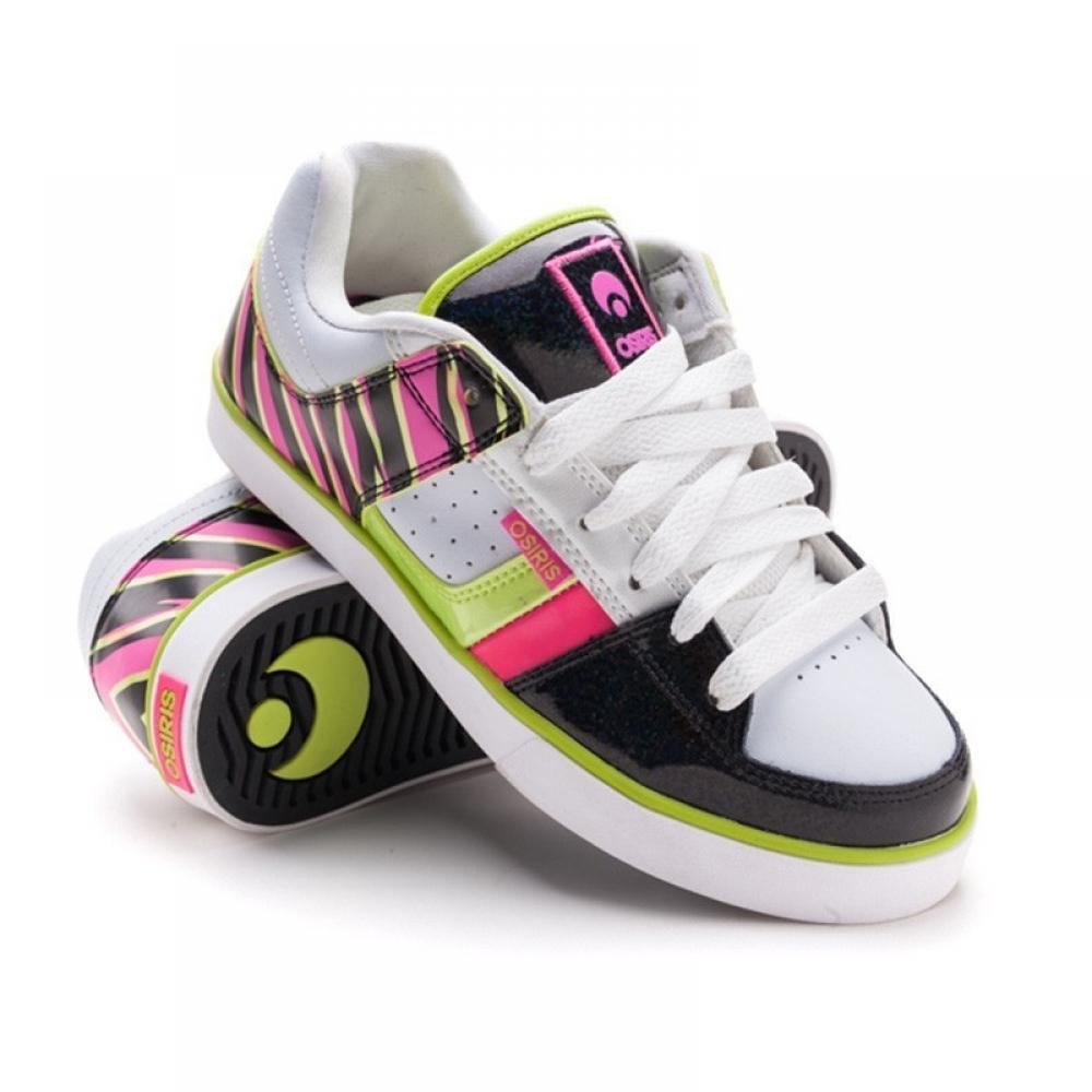 Кроссовки Osiris Libra Wht/Blk/Pink