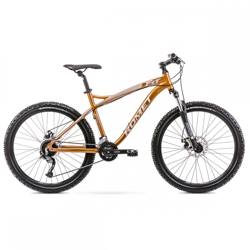 Велосипед ROMET 20 Rambler Fit 29 мідний 18 L