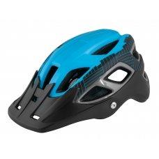 Велошлем FORCE Aves MTB черно-синий, мат L-XL
