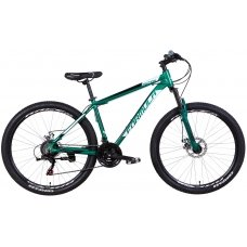 "Велосипед Formula MOTION AM DD 27.5"" green/blk/wht 19 L"