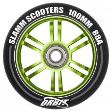 Колесо для трюкового самоката Slamm Orbit green 100 мм