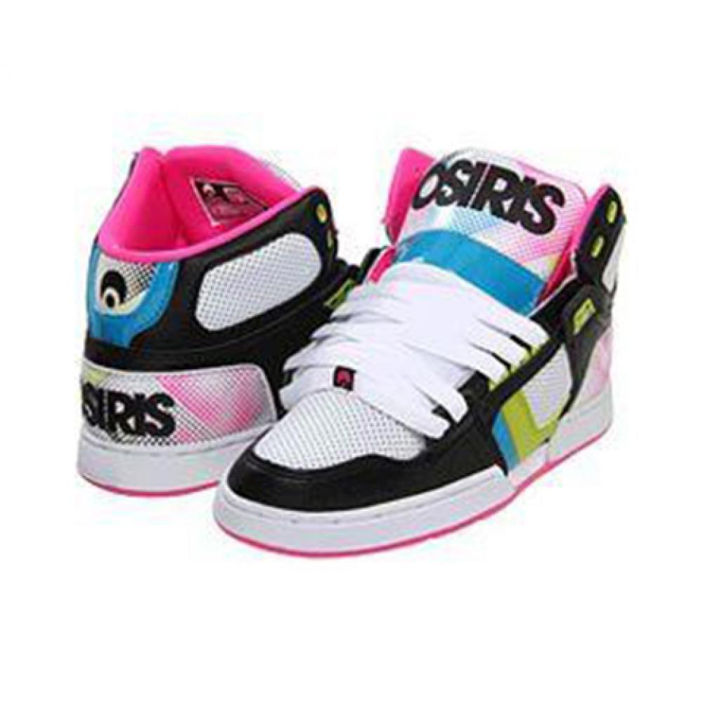 Кросівки Osiris NYC 83 Slim Girls Blk/Pnk/Htone