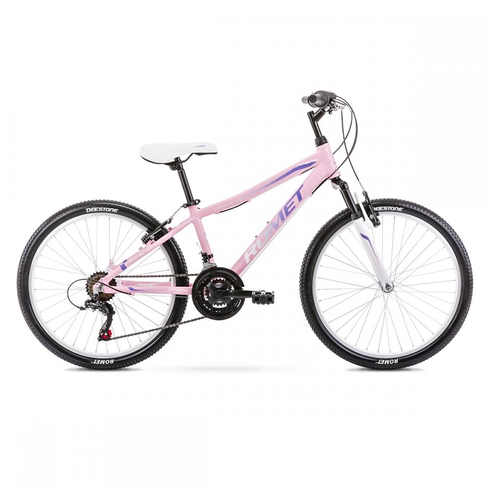 Велосипед ROMET 20 Jolene 24 рожевий 13S