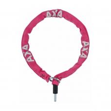 Велозамок AXA Plug-in RLC 100/5,5 рожевий
