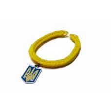 Браслет Silicon UA Yellow