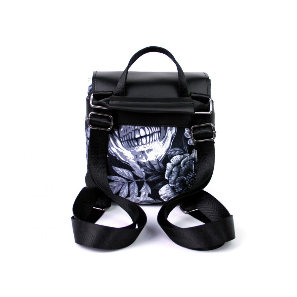 Рюкзак Diller міні Grey Skull