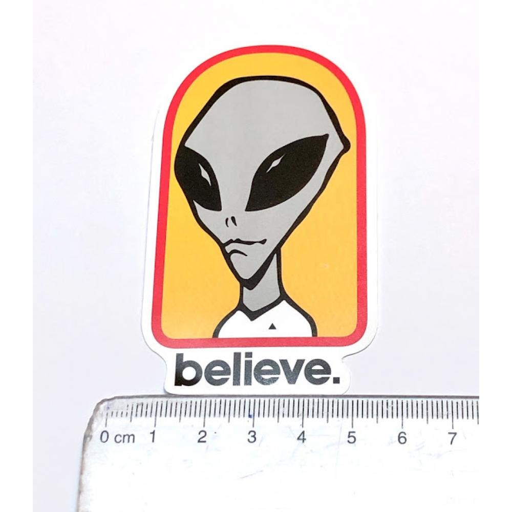 Стікер наклейка Alien Workshop Believe