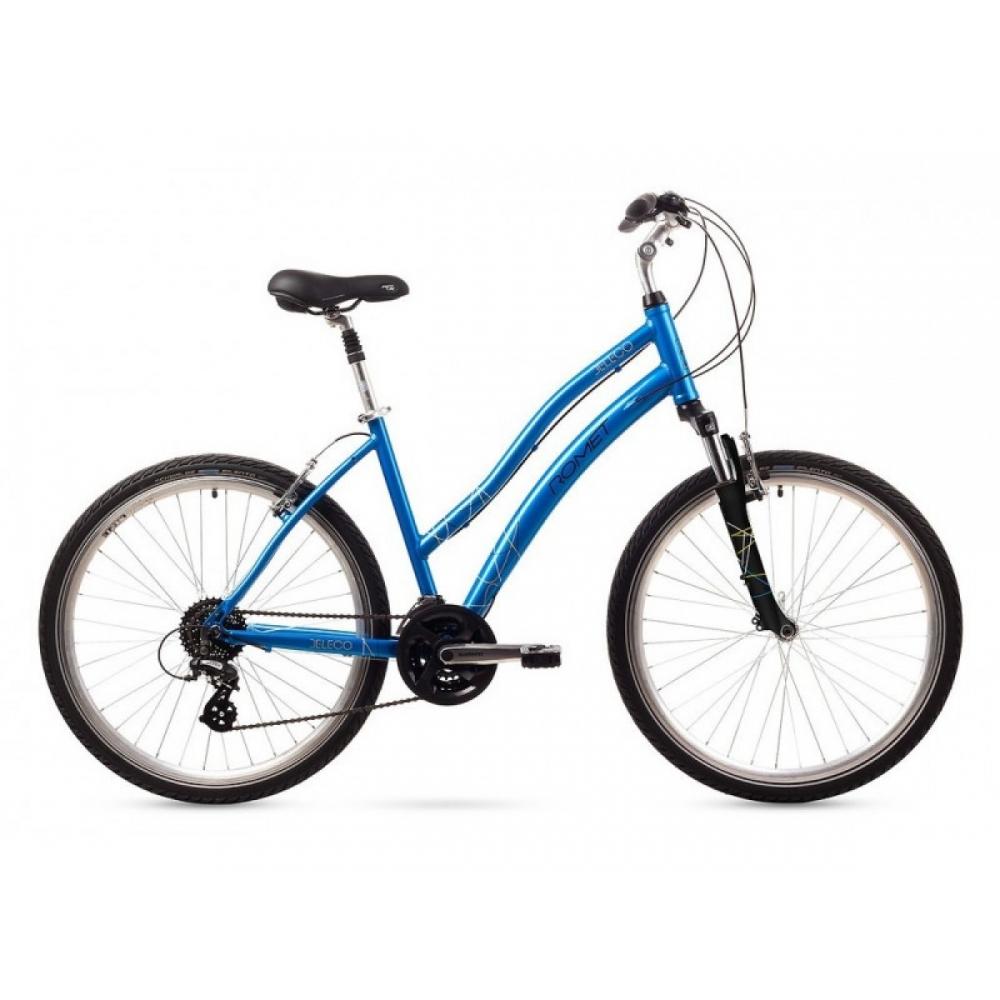 Велосипед ROMET Beleco блакитний 16 M