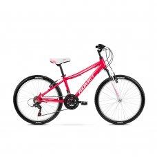Велосипед ROMET Jolene 24 малиново-білий
