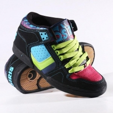 Кросівки Osiris South Bronx Girls Blk/Multi/Gina