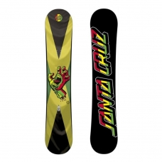 Сноуборд Santa Cruz Screaming Hand Rasta 154 cм