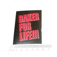 Стікер наклейка Baker For Life
