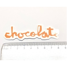 Стикер наклейка Chocolate Logo