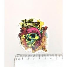 Стікер наклейка Factory Skull