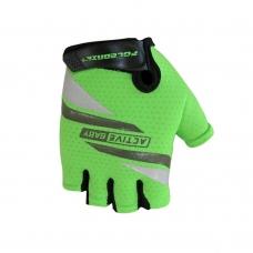 Перчатки для велосипеда детские POLEDNIK Active Baby зеленый 3