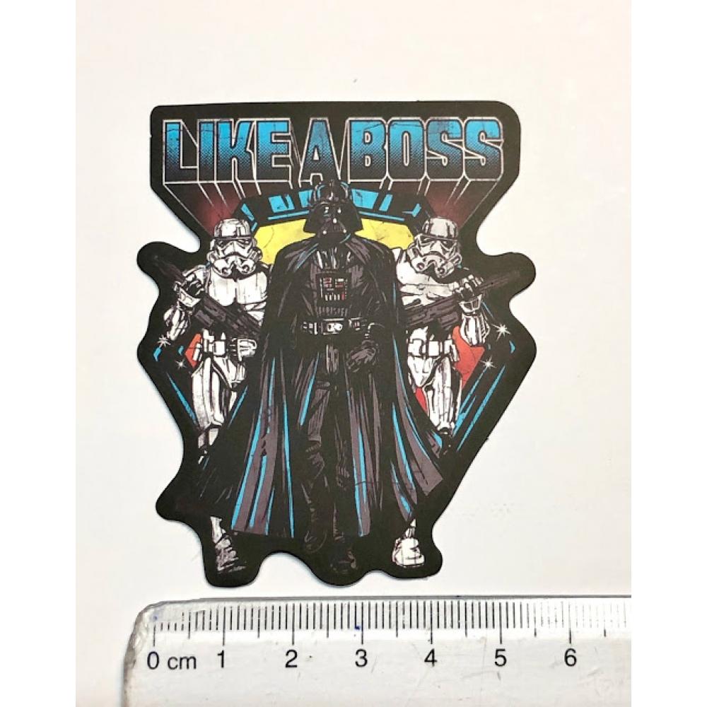 Стікер наклейка Star Wars Like A Boss