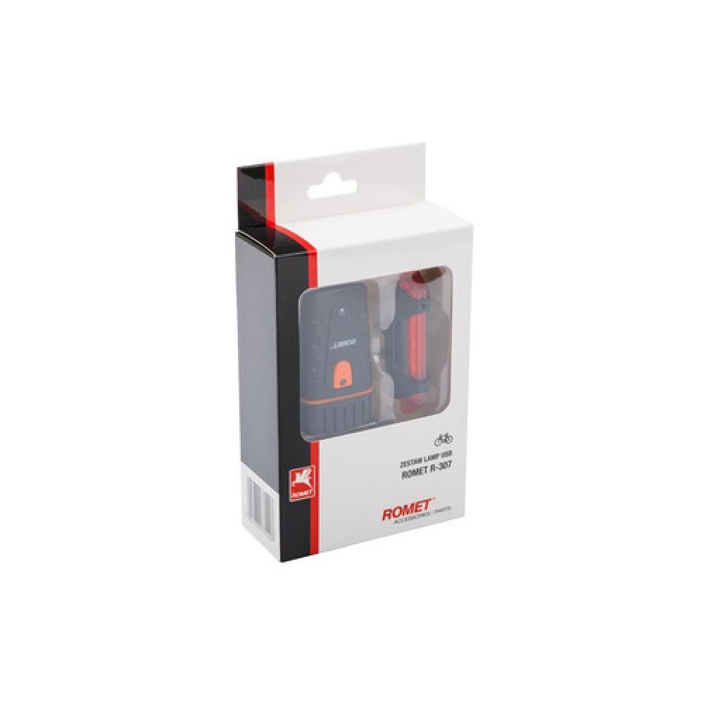 Комплект фонариков на велосипед Romet R-307 USB