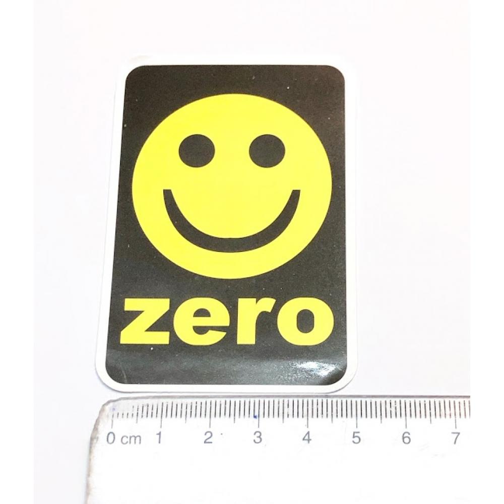 Стикер наклейка Zero Skateboards Smile