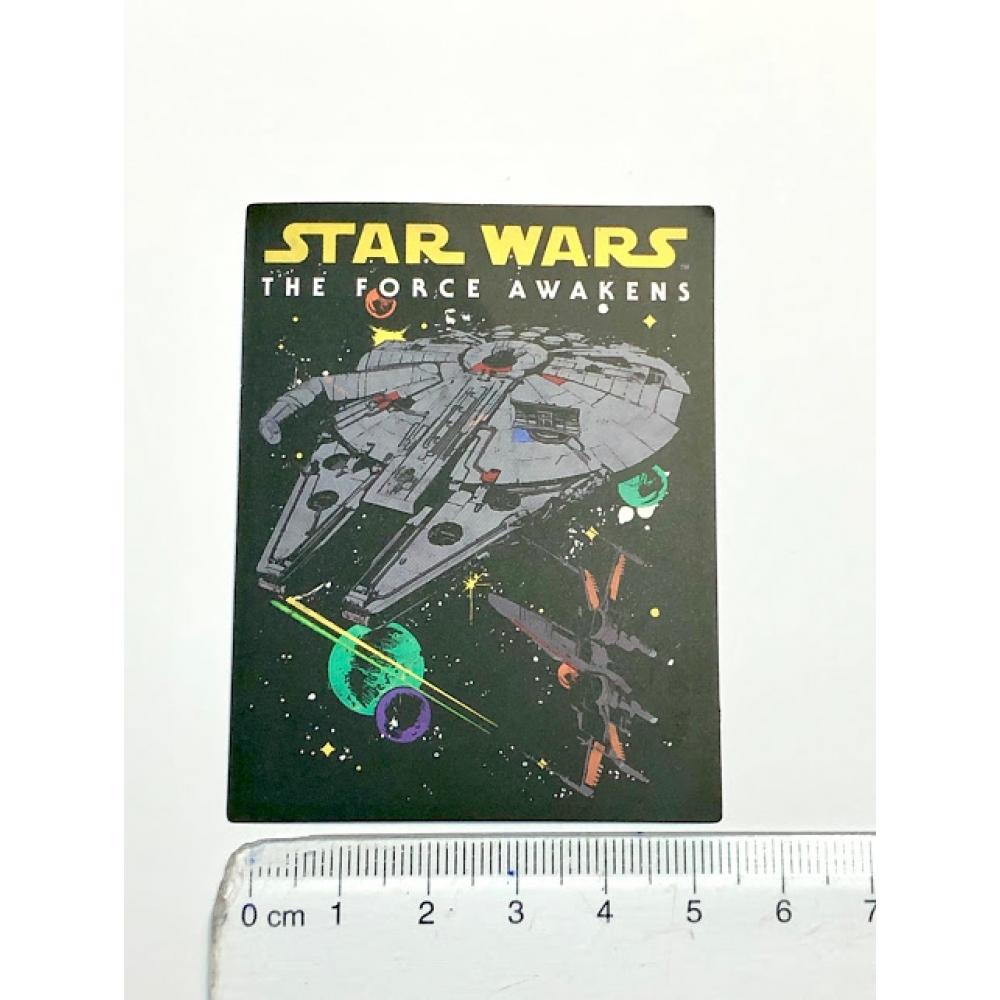 Стікер наклейка Star Wars Force Awakens