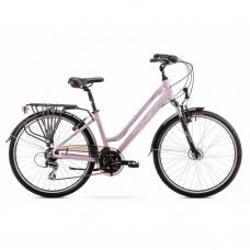 Велосипед ROMET 20 Gazela 2 біло-рожевий 15S