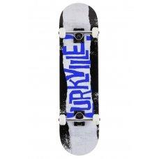 """Скейт компліт Lurkville Torn (black-blue) 8.25"""""""