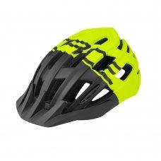 Велошлем FORCE Corella MTB черно-неоново-желтый L-XL