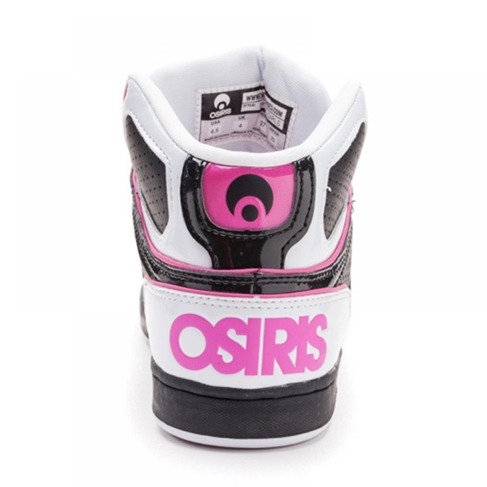 Кроссовки Osiris NYC 83 Girls Wht/Blk/Pnk