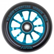 Колесо для трюкового самоката Slamm Flair 2.0 blue 100 мм