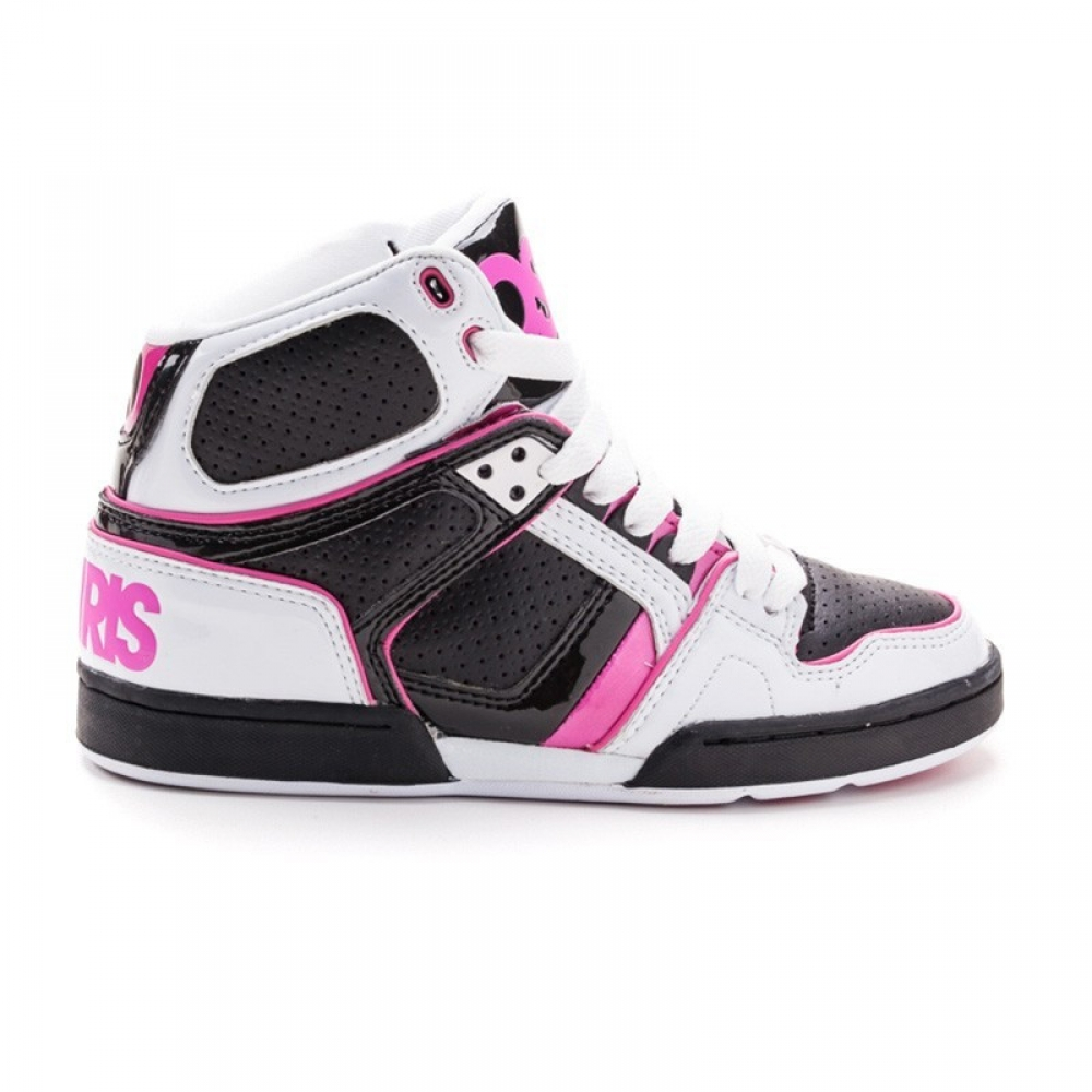 Кроссовки Osiris NYC 83 Girls Wht/Blk/Pnk