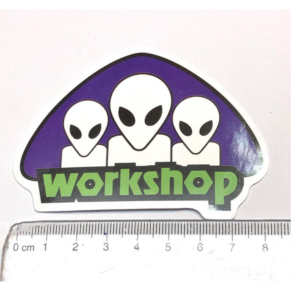 Стікер наклейка Alien Workshop Prpl