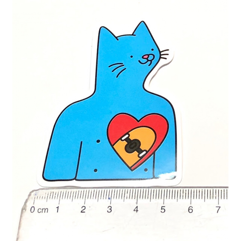 Стикер наклейка Rip'n'Dip Heart Skate