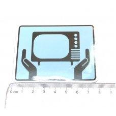 Стикер наклейка Alien Workshop TV
