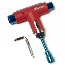 Універсальний ключ SILVER TOOL RED/BLU